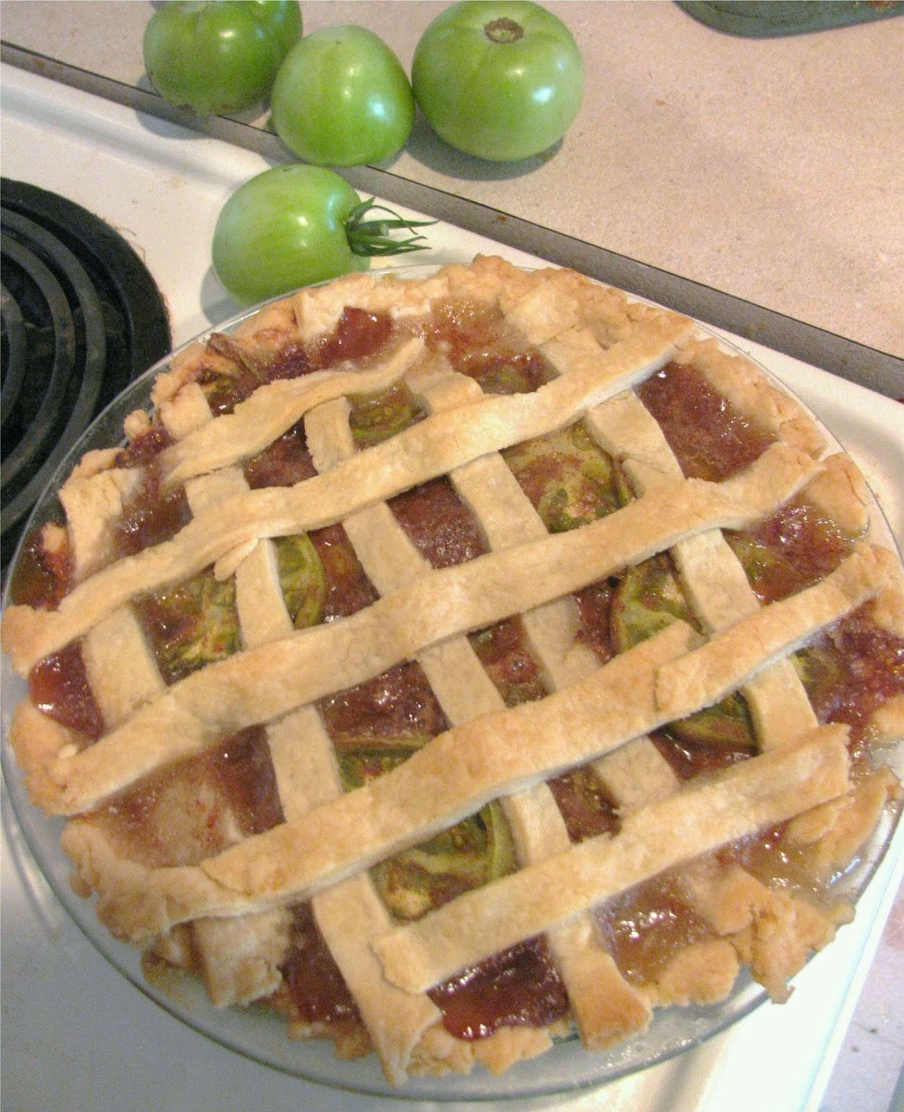 Green Tomato Pie Recipe