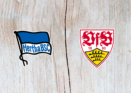 Hertha Berlin vs VfB Stuttgart  - Highlights 4 May 2019