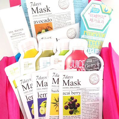Memebox Ariul Detox Box Unboxing