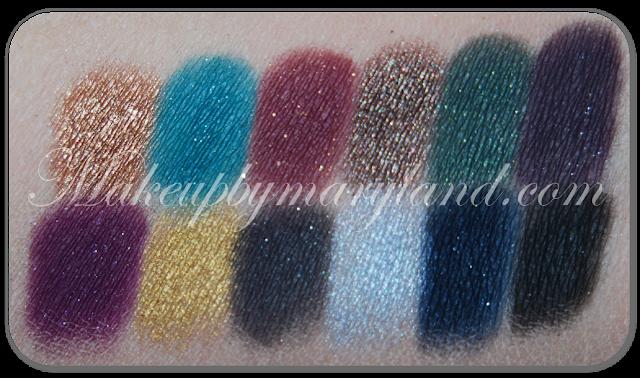 Chocolate-Penny-Blue-Spruce-Mulled Wine-Truffle-Mistletoe-Illusion-Festive-Gold-Ribbon-Glitz-Glamour-Tinsel-Twinkle-Starry-Night-sleek-makeup-eyeshadow-palette-paleta-sombras-maquillaje-low-cost-barato-alta-pigmetacion-metalizado-brillos-chispitas-too-faced-glitter-glue-spakle-2-xmas-limited-edition-christmas-2012