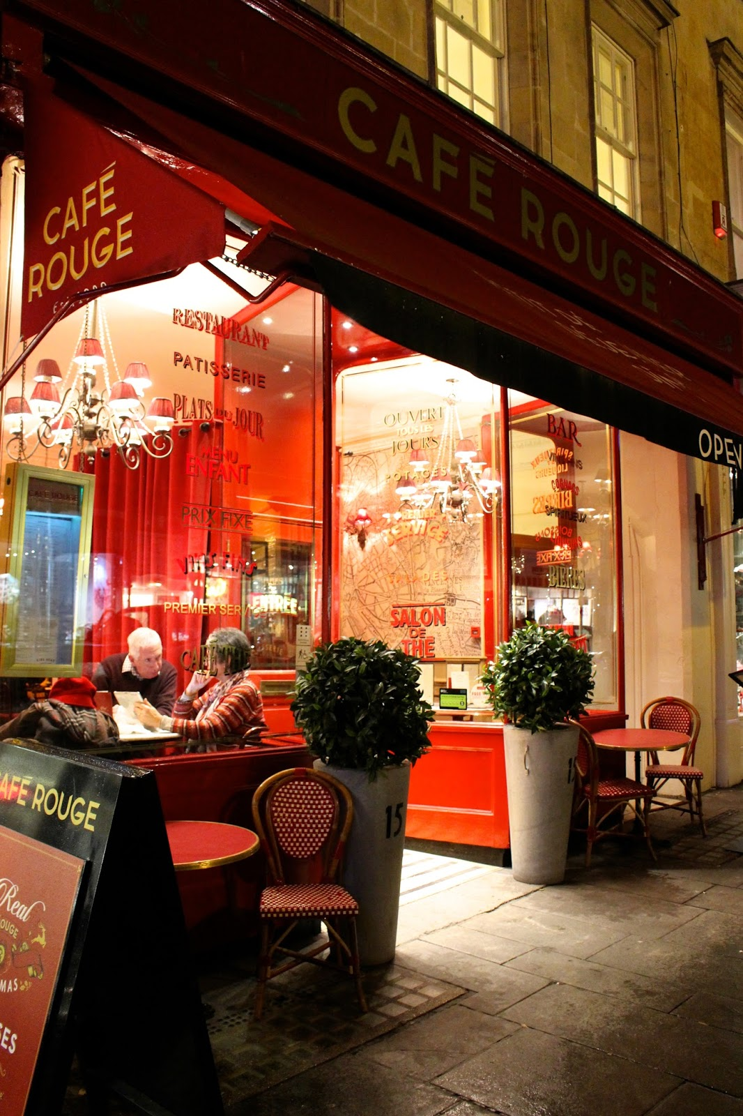 Cafe Rouge Bath Restaurant