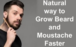 Meesai Thadi Valara Tamil Tips Grow Beard & Mustache Naturally 2