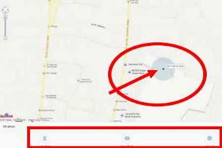 melacak hp xiaomi tampil di maps