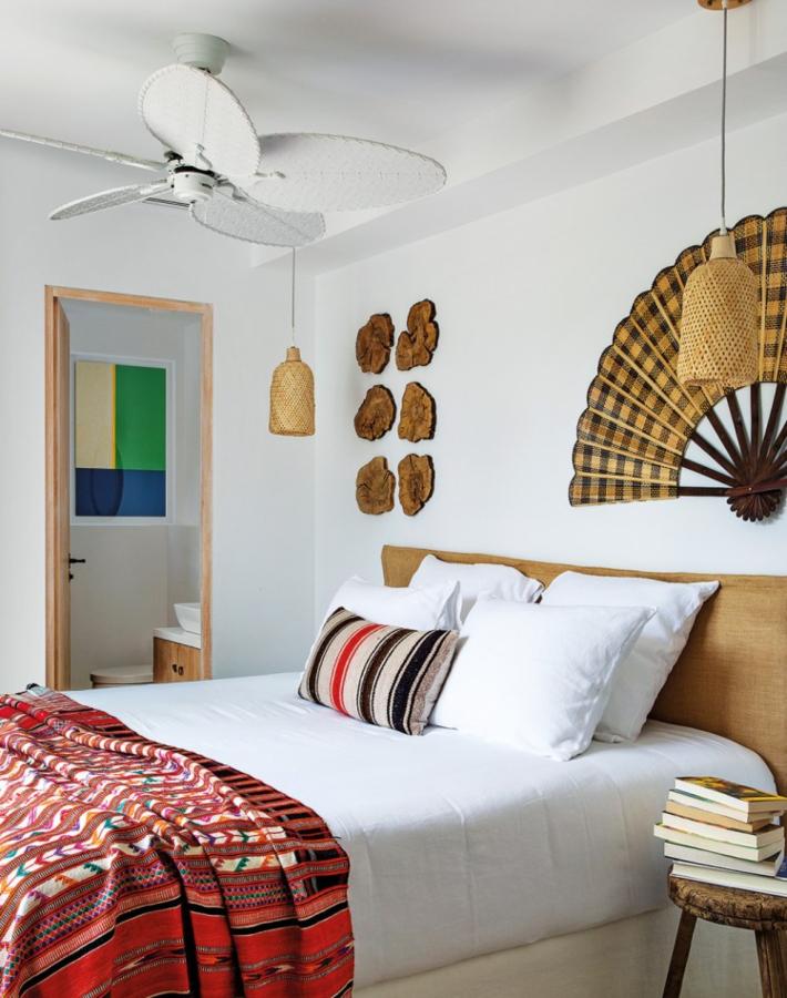 Color y verano en una casa en Ibiza