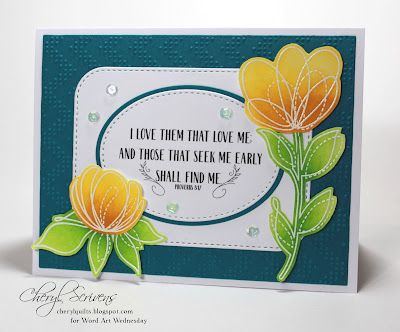 CherylQuilts, Designed by Cheryl Scrivens, Word Art Wednesday, October 2016