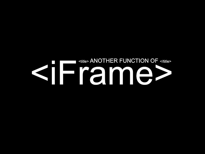 Another Function of iFrame