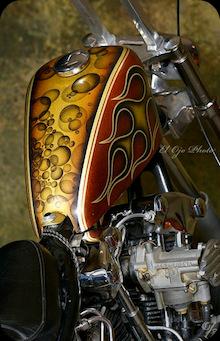 Chemical Candy Customs Rkb Kustom Speed Bitchin Shovel