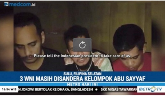 Kelompok Bersenjata Abu Sayyaf Kirim Video, Kondisi Sandera 3 WNI Asal Selayar Dan Bulukumba