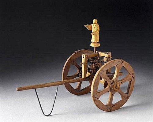 รถชี้ทิศใต้ (South-pointing chariot, 指南車)