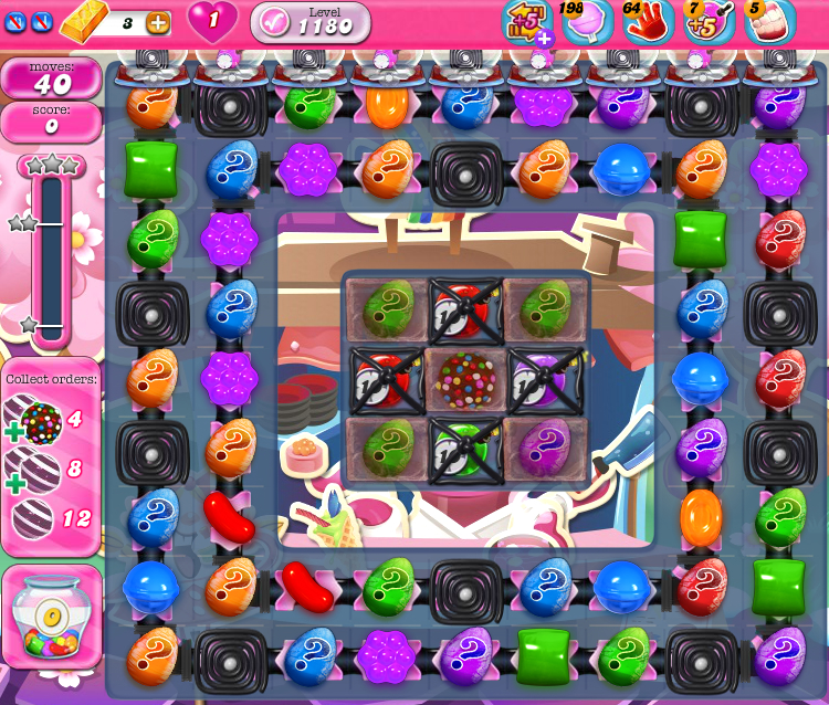 Candy Crush Saga 1180