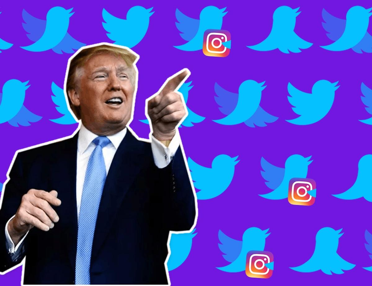 Trump Tweets and Instagram, Online Media Trends 2018