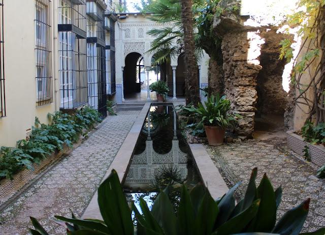 Jardines del carmen de los Mártires en Granada