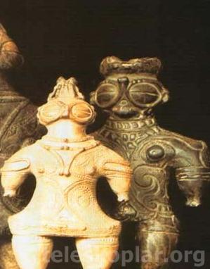 Japon uzay heykelcikleri