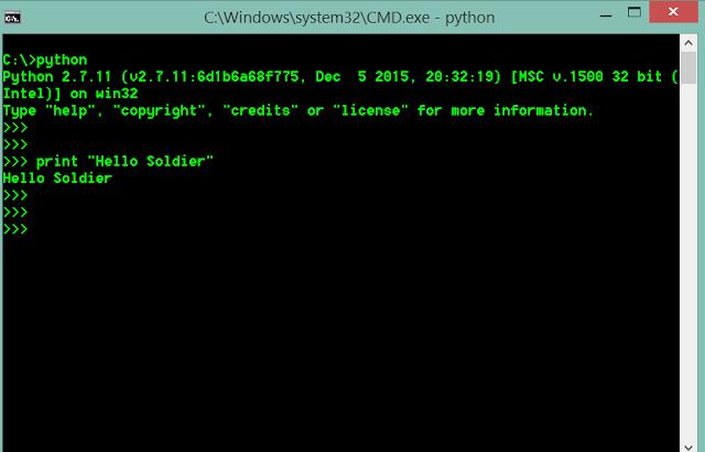 belajar pemrograman python