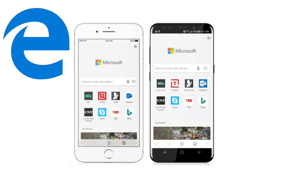 Microsoft Edge browser now available for Android and iOS