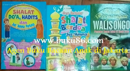 Agen Buku Bacaan Anak di Jakarta