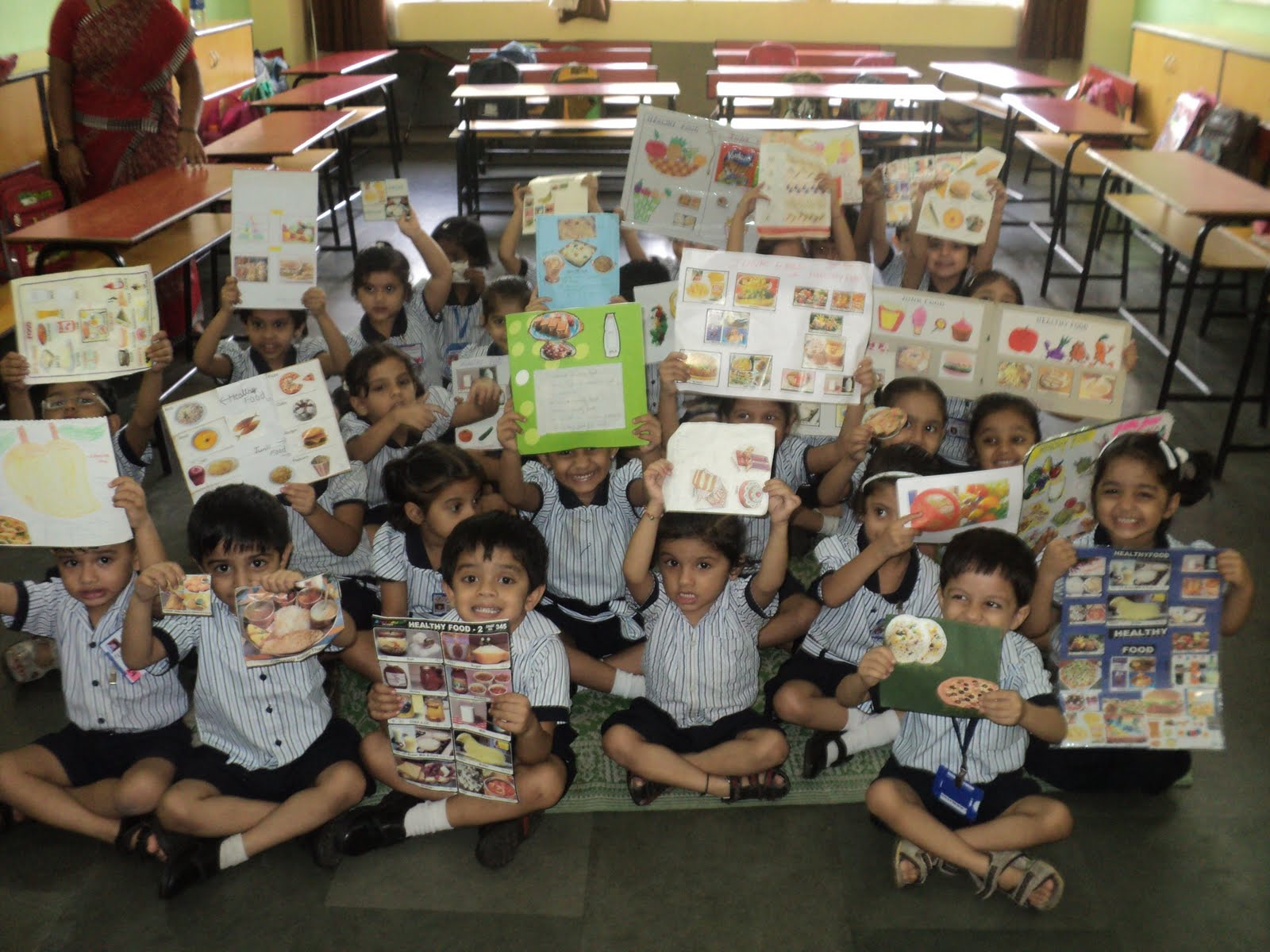 The Rustomjee Cambridge Diaries Show And Tell Healthy And Junk Food