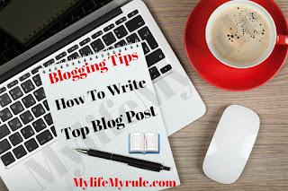 Top blog post writing tips