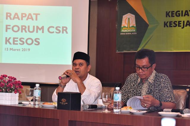 CSR Kessos Bahas Upaya Peningkatan Kesejahteraan Sosial Masyarakat Aceh