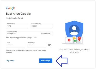 buat email baru gmail