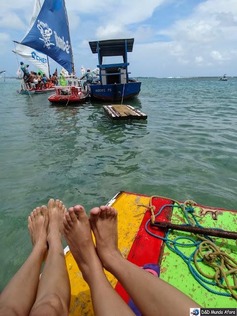 O que fazer em Porto de Galinhas - Pernambuco - Passeio de Jangada