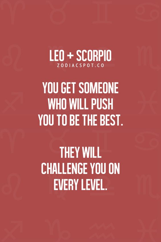 Scorpio man and leo woman love compatibility