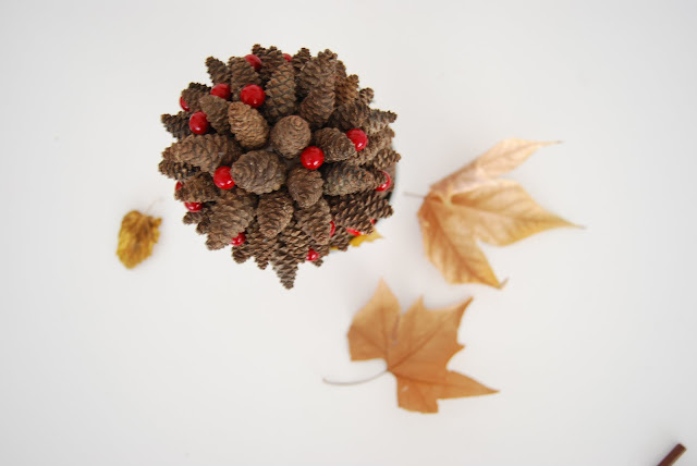 tutorial árbol de piñas para navidad