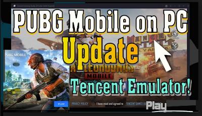 Cara Update PUBG di Tencent Emulator