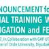 Dicle Üniversitesi tarafından gerçekleştirilecek International Training Workshop on Drip Irrigation and Fertigation (Damla Sulama ve Fertigasyon) konulu uluslararası eğitim çalıştayı