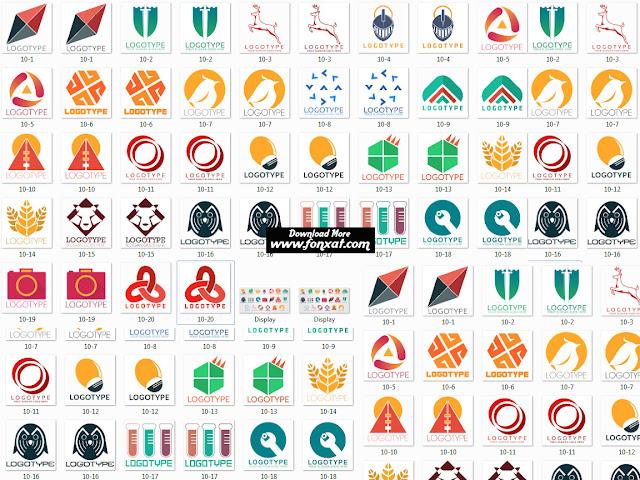 اكثر من 20 شعار بحجم 2 ميجابايت مميز جاهز لتعديل - psd