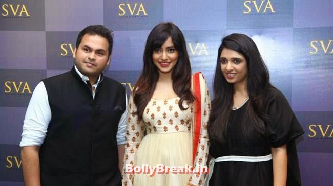 Paras Modi, Neha Sharma and Sonam Modi, Mandira Bedi, Neha Sharma, Karishma Tanna, Satyarupa  Photos from SVA Bridal Store Opening