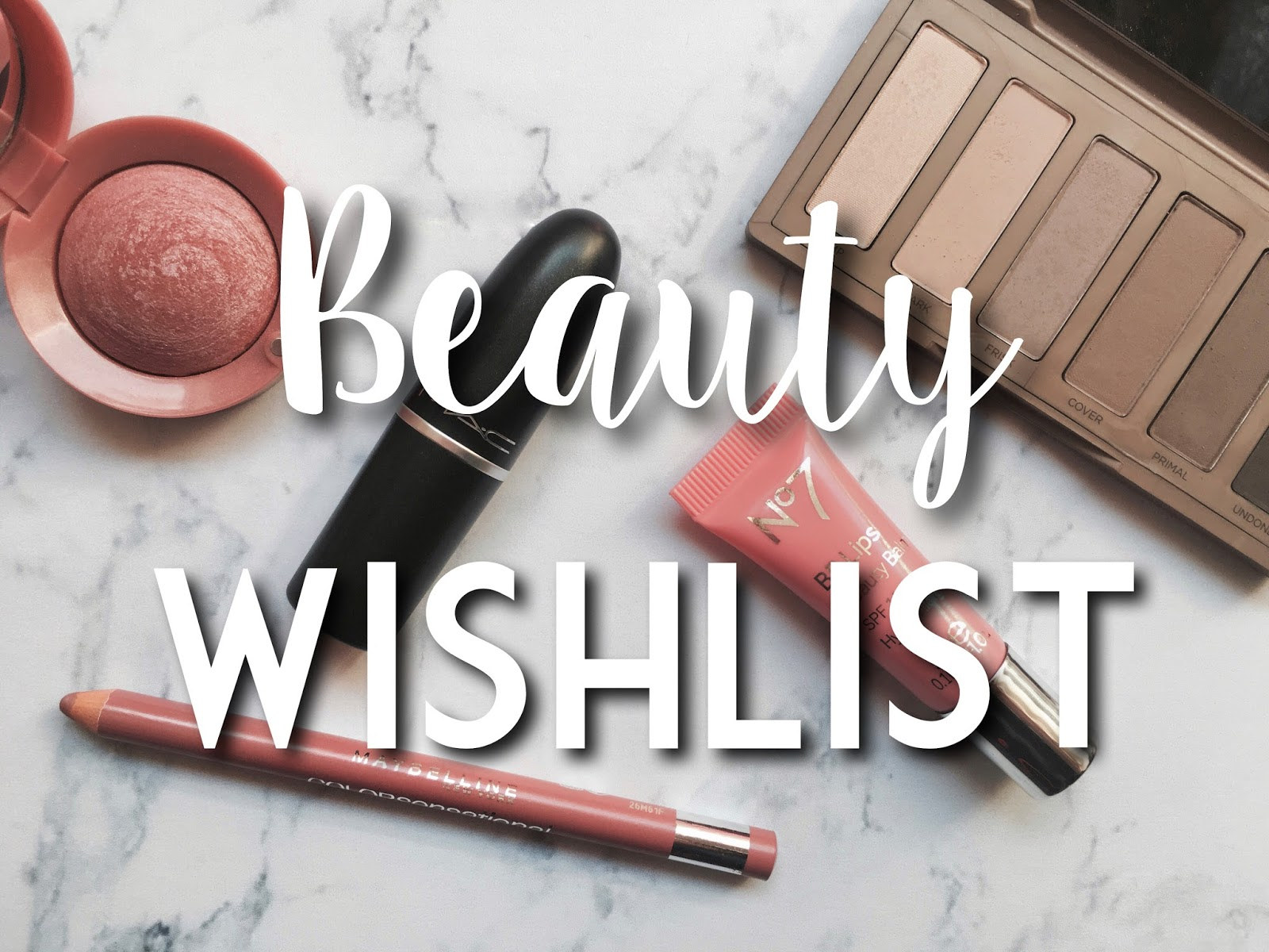 beauty wishlist 2016