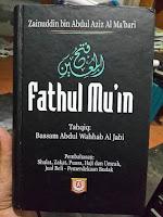 Bab Pernikahan Dalam Kitab Fathul Mu'in