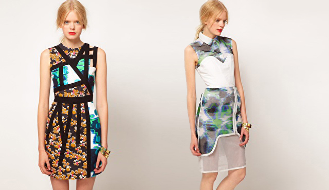 ASOS BLACK: Spring/Summer 2012  by Lauren McCalmont