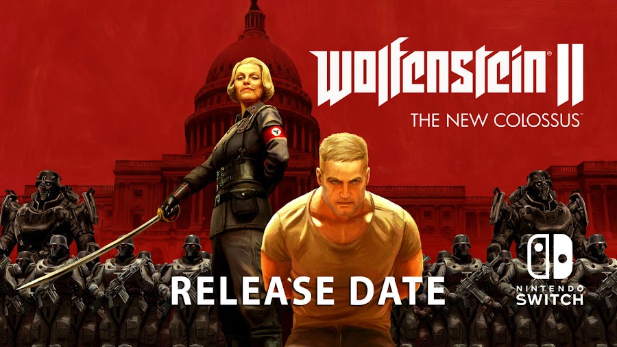 wolfenstein 2 switch release date