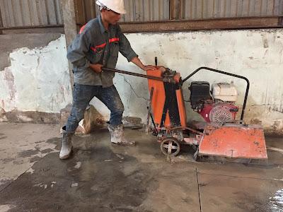 Khoan cắt bê tông tại huyện Phong Điền
