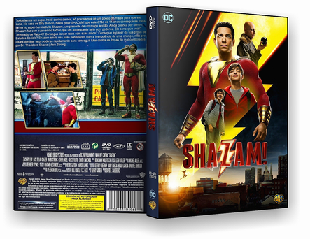 CAPA DVD – Shazam TS CINEMA – ISO