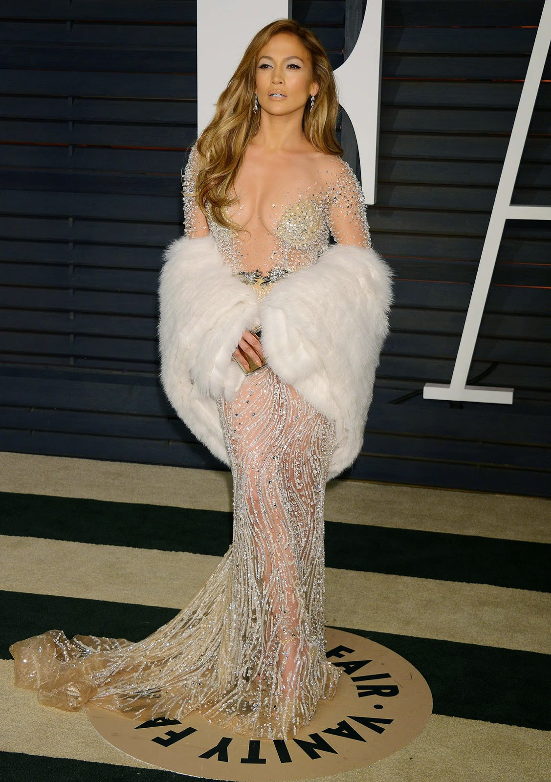 Jennifer Lopez – 2015 Vanity Fair Oscar Party in Hollywood