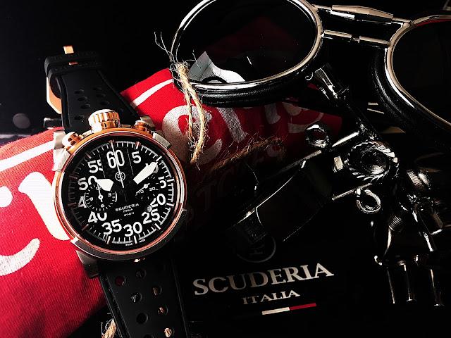 大阪 梅田 ハービスプラザ WATCH 腕時計 ウォッチ ベルト 直営 公式 CT SCUDERIA CTスクーデリア Cafe Racer カフェレーサー Triumph トライアンフ Norton ノートン フェラーリ TOURING ツーリング CS10173