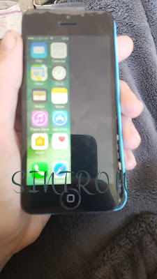 iphone cracked LCD