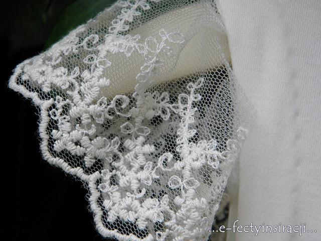 sukienka dla małej księżniczki, szyfon, koronki, brosza