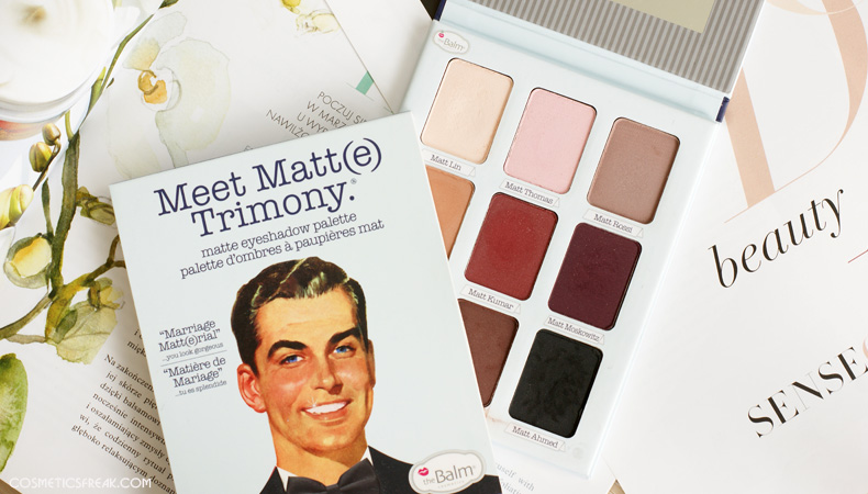 the balm meet matt trimony