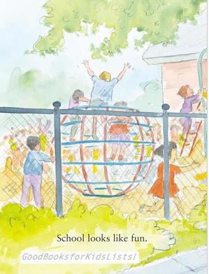 sample page #1 from I LOVE SCHOOL!  (Scholastic)  (Noodles series)  by Hans Wilhelm