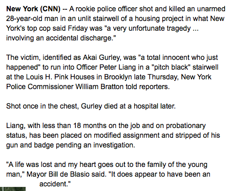 free to find truth: 47 53 | More Police Outrage Headlines, NY Rookie