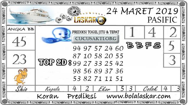 Prediksi Togel PASIFIC LASKAR4D 24 MARET 2019