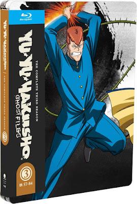 Yu Yu Hakusho Season 3 Steelbook Bluray