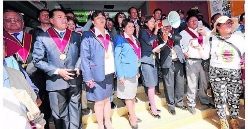 Consejo Regional de Junín será mediador en diálogo entre el Sutep y PCM para evitar descuento