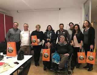"""Δ. Τ. Η ΔΔΕ ΠΙΕΡΙΑΣ και ο Αθλητικός Σύλλογος Αστερίας, στα πλαίσια του Ευρωπαϊκού Προγράμματος Erasmus+ SPORT με τίτλο """" Nautilius"""" σε Διεθνική Συνάντηση"""