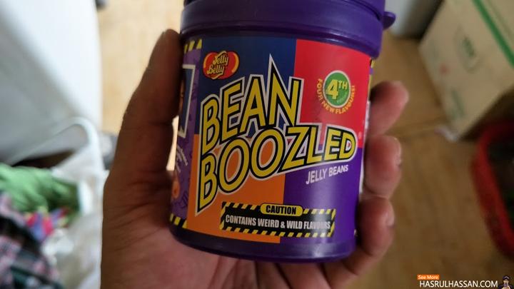 Gula-Gula Jelly Bean - Bean Boozled Berperisa Pelik