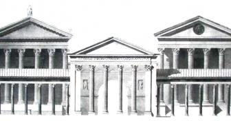 Portico di ottavia for Come aggiornare le colonne del portico anteriore